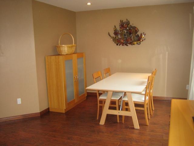Salle de séjour-table